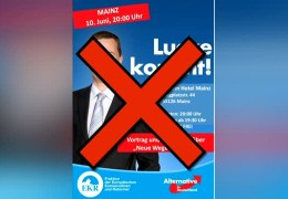 AfD-Politiker Lucke muss ausweichen