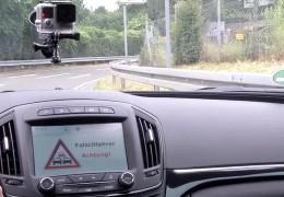 Hessen Mobil präsentiert Falschfahrerwarner