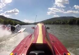 Speedboat-Masters auf dem Rhein
