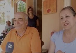 Sorgenvolle Griechen