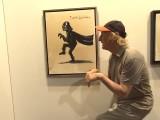 Otto Waalkes eröffnet seine Ausstellung