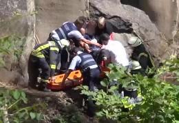 Kletterer schwer verletzt