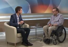 Zu Gast im Studio – der Landesbehindertenbeauftragte