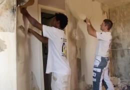 Malermeister stellt Flüchtlinge ein