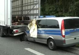 Polizist stirbt auf der A 5