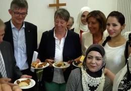 Berliner Politpromis im Wahlkampfland