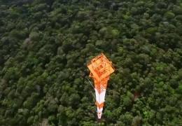 Der höchste Klima-Messturm der Welt
