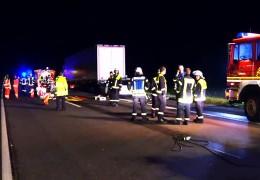 2 Tote bei Unfall auf A 61
