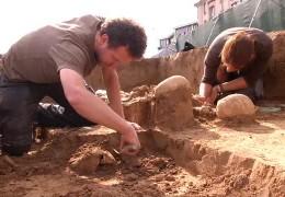 Ausgrabungen in Frankfurt