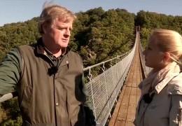 Die Hängeseilbrücke von Mörsdorf im Hunsrück