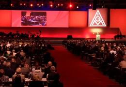 IG Metall beginnt Gewerkschaftstag in Frankfurt