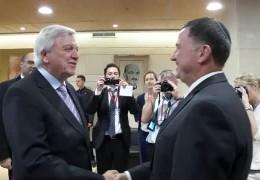 Ministerpräsident Volker Bouffier zu Gast in Israel