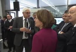 Malu Dreyer und Sigmar Gabriel bei Mittelstandstag in Kaiserslautern