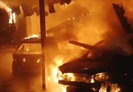 Brandserie in Einhausen geht weiter