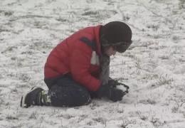 Kälteeinbruch mit Schnee