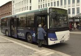 Eingeschränkter Busverkehr
