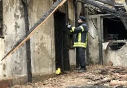 Feuer in Bad Nauheim Innenstadt
