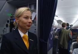 Flugbegleiter setzen Streik bei Lufthansa aus