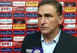 FCK-Manager Kuntz bei der DFL