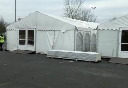 Winterquartier für Flüchtlinge
