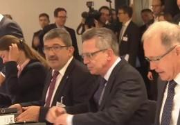 Innenministerkonferenz in Koblenz