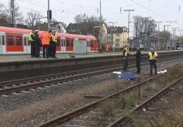 Mann von Zug überrollt