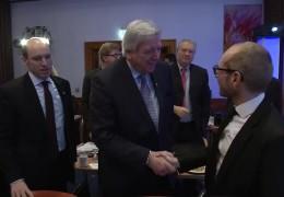 Vor Ort: Klausur der Hessen-CDU in Künzell