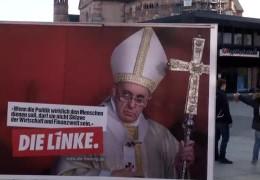 SPD und Die Linke plakatieren
