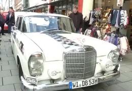 """Oldtimer starten zur """"Rallye Monte Carlo Historique"""""""