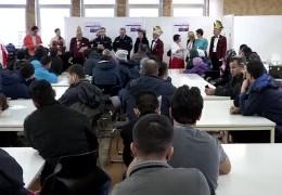 Polizei klärt Flüchtlinge über Fastnacht auf