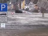Hochwassergefahr an der Mosel