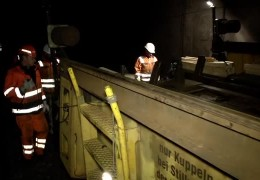 S-Bahn-Tunnel in Frankfurt wird saniert