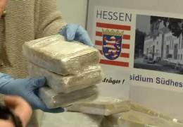 Darmstädter Polizei deckt internationalen Rauschgiftschmuggel auf