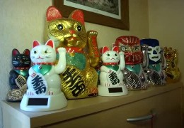 Unsere Sammler – Katzen in jeder Form