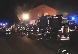 Syrer legte Brand in Flüchtlingsunterkunft
