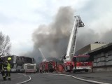 Spurensuche nach Brand einer Lagerhalle