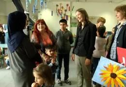 Spiegel besucht Flüchtlinge