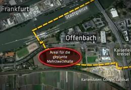 Frankfurt und Offenbach streiten