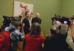 Baselitz eröffnet eigene Ausstellung