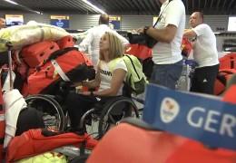 Verabschiedung der Paralympics-Mannschaft