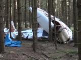 Pilot überlebt Absturz