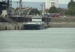 Toter aus BASF-Hafenbecken geborgen