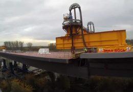 Schiersteinerbrücke macht Fortschritte