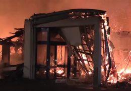 Discounter in Kastellaun brennt ab