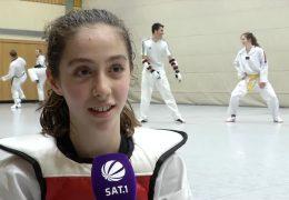 13jährige wird Deutsche Meisterin im Taekwondo