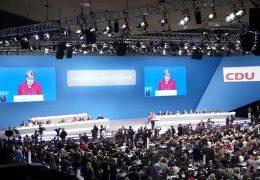 CDU-Bundesparteitag in Essen