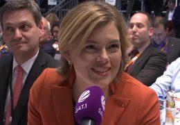 Stellvertretender CDU-Bundesvorsitz: Klöckner und Bouffier wiedergewählt