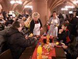 Gänse-Essen für Obdachlose im Frankfurter Römer