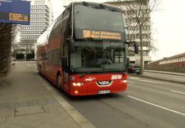 Doppeldecker-Busse in Nordhessen