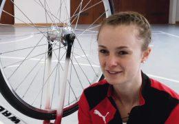 Lisa holt WM-Titel im Kunstradfahren